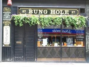 Rude bar name