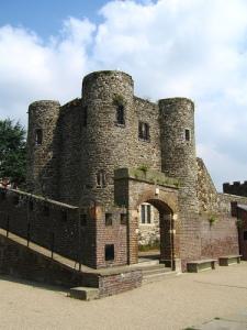 Behind Rye Castle