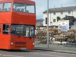Bonfire, Shankill Road