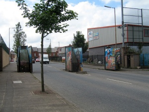 Peace Line, West Belfast