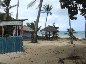 Abandoned resort