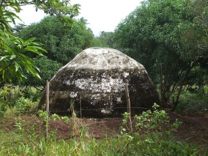 Mystery structure in jungle